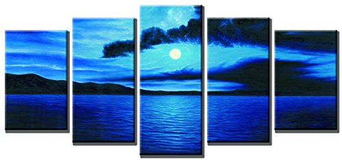 Navy Blue Art Amazon Com