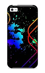 Excellent Design Vector Artistic Abstract Artistic Phone Case For Iphone 5c Premium Tpu Case