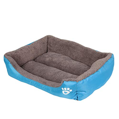 bluee XL 80x60x15cm bluee XL 80x60x15cm Cookisn 2XL Size Soft Cute Pet Warm Dog Bed Cozy House Fabric Cotton Pet Dog Beds for Cat Puppy Plus Big Large Dog Kennel Dropshipping bluee XL 80x60x15cm