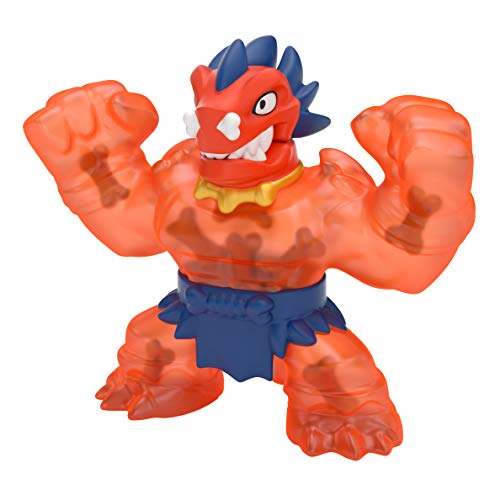 Heroes of Goo Jit Zu Dino Power Versus Pack - 2 Action Figures - Volcanic Rumble - Blazagon vs. Redback   Includes 2 Exclusive Heroes   for Ages 3+