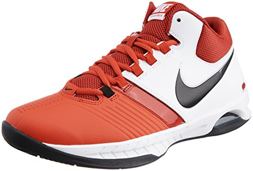 Us Visi Air scarpa 8 11 bianco Red Blk Gym da Rd 5 BLK Red Rd White basket palestra Unvrsty V Pro rBdzwqr6