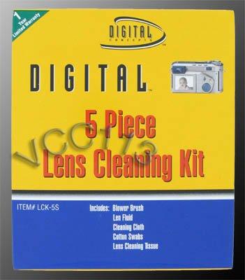 DIGITAL CONCEPTS LCK-CL 5-Piece Lens Cleaning ()
