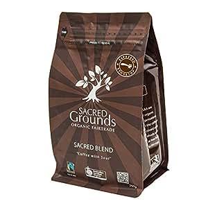 Sacred Grounds, Organic Sacred Blend Espresso Coffee, 250g