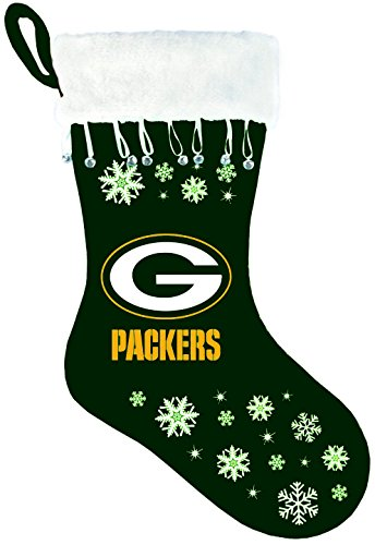 NFL Green Bay Packers Snowflake Stocking