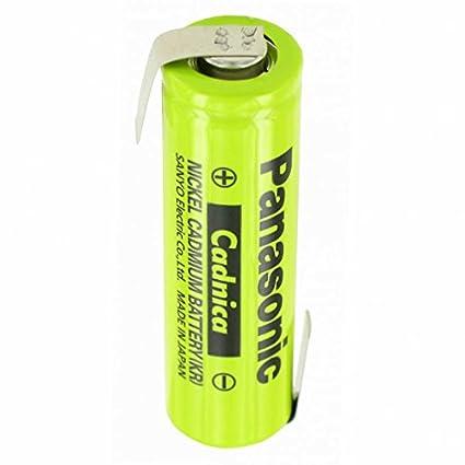 Pilas NiCd flat Top 1,2 V 600 mAh batería de soldadura AA Z-form ...