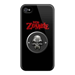 Defender Case With Nice Appearance (rob Zombie) For Iphone 4/4s