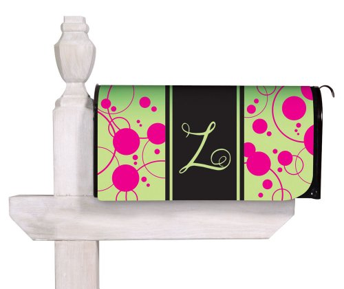 Monogram Glow in the Dark Mailbox Cover, Z (Monogrammed Magnet Set)