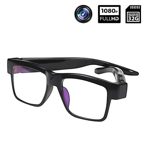 Camera Glasses 1080P Towero Portable Mini Video Glasses Wearable Camera