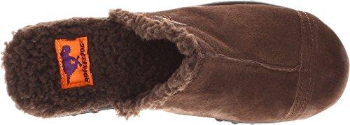Frannb Women's Chocolate Rocket Nubuck Dog Mule nY7ppzqE