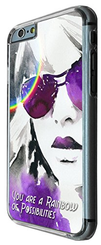 773 - You Are Rainbow of Possibilities Design iphone 6 PLUS / iphone 6 PLUS S 5.5'' Coque Fashion Trend Case Coque Protection Cover plastique et métal