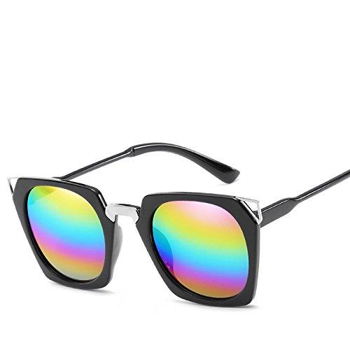 No4 Viajes Street Sol De Gafas Señora Trend Moda Sol De Visera Vacaciones Gato NO6 Personalidad RinV Ojo Gafas De Shoot xBOwH
