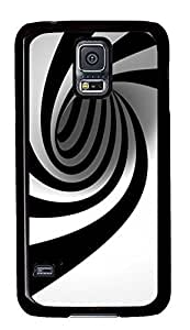 best Samsung S5 cover Spiral Stripes PC Black Custom Samsung Galaxy S5 Case Cover