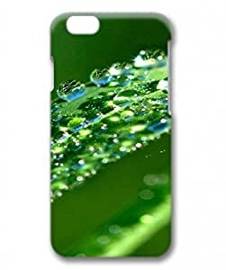 PC Hard Shell Green Water Drop for Iphone 6 3D Case