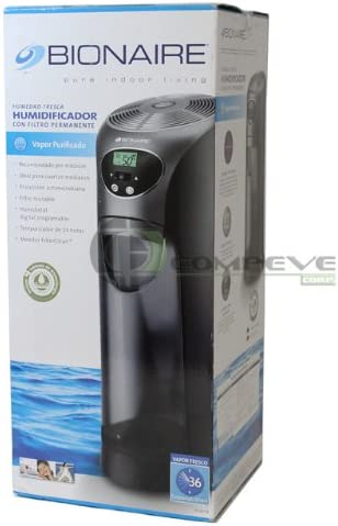 Bionaire BCM658 cool mist tower humidifier with permanent filter for medium size room
