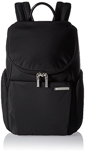 Briggs & Riley Sympatico Small U Zip Backpack, Onyx