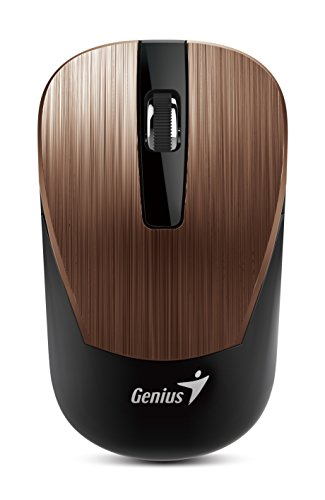 Genius 7 Series Metallic Comfortable Stylish Wireless Mouse (NX-7015/ROSY)