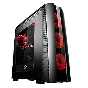 ArmYourDesk Ryzen 7 Extreme G58 VR Ready Desktop Gaming PC ( AMD Ryzen 7 1700, AMD Radeon RX580 8GB, 8GB DRR4 RAM, ASUS B350, M.2 512GB SSD + 2TB HDD, Win 10 Home Installed)