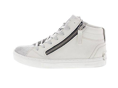 Londen Misdaad 25325s17 Java Mid - Damesschoenen Sneaker Shoes - 10 Wit
