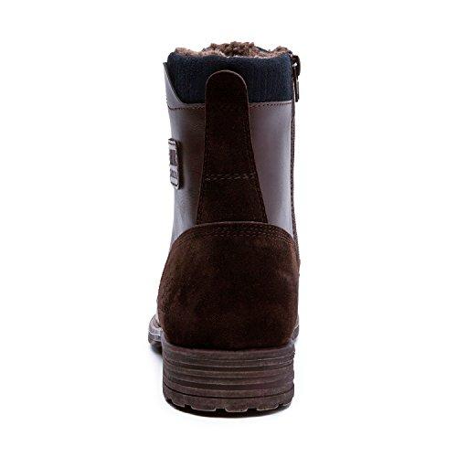 Globala Win Globalwin Mens Klassiska Vinter Vatten Resistnat Chukka Boots 16523dk, Brun