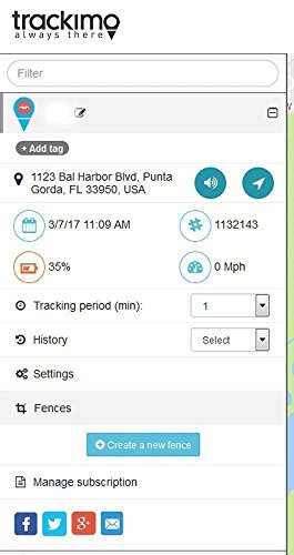Trackimo TRKM007 Car/Marine GPS Tracker with GPS/GSM/Wi-Fi/BT Hybrid tracking and 12V Accessory Kit by Trackimo (Image #4)
