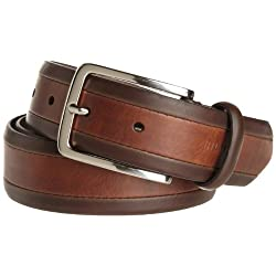 Tommy Hilfiger Men's 35mm Turn Edge Belt