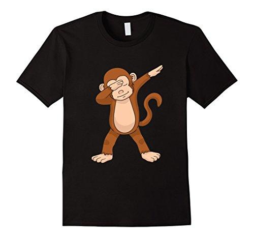 Dabbing Monkey T-Shirt Funny Dab Gift