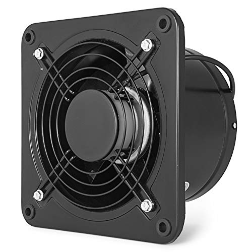 Mophorn Industrial Ventilation Extractor Metal Axial Exhaust Commercial 10 inch Air Blower Fan 200MM Opening Exhaust Fan 2800 RPM Low Noise Stable Running