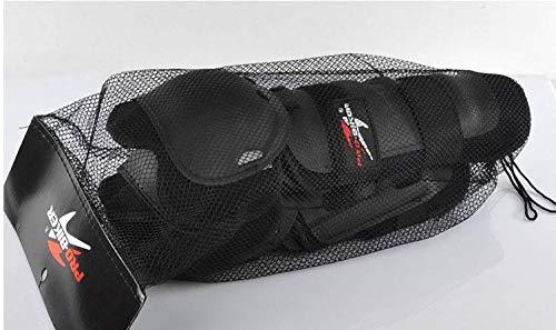 Pro Biker Ginocchiere e Gomitiere per Moto BMX MTB Freeride Downhill DH Arti Marziali