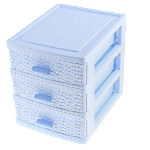 Ropa Interior Calcetines cajn joyera organizador del envase Caja DE 3 capas
