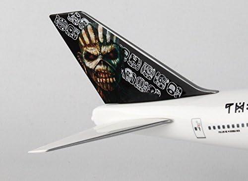 IRON MAIDEN Boeing 747-400 1:200 modello di aereo b747 NUOVO