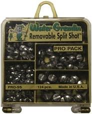 Water Gremlin Company Removable Split Shot Pro Pack, 48ea/BB, 36ea/3/0, 16ea/7, 12ea/5, 12ea/4