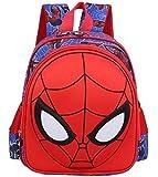 Waterproof Cute 3D Spiderman Children Backpacks Baby School Bags For Boys Cartoon Backpack Kids -xx