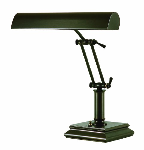 House of Troy P14-201-81 14-Inch Portable Desk/Piano Lamp, Mahogany Bronze ()