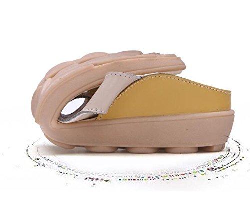 da Sandali giallo Antiscivolo da Casual Pantofole Donna Donna Comodi Pantofole Donna BFMEI Sandali Piatte Scarpe da Hw7BPqA