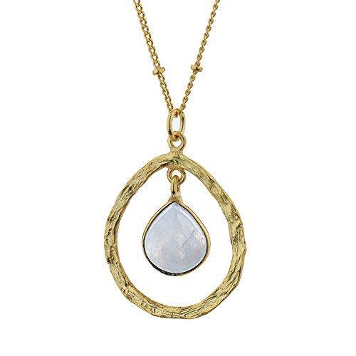 Moonstone Gemstone Pendant - 9