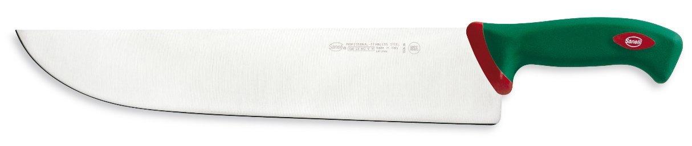 Sanelli Premana Professional Line Slicing Knife, 14.2'', Silver/Green