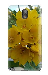 Note 3 Scratch-proof Protection Case Cover For Galaxy/ Hot Yellow Flowers Phone Case