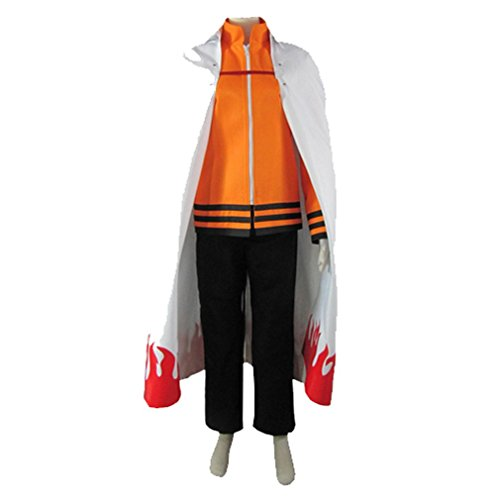Naruto 7th Hokage Costume (Cuterole Naruto last-Uzumaki Naruto Seventh Hokage Anime Cosplay Costume)