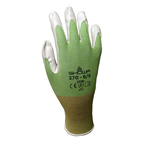 6 Pack Showa Atlas NT370 Atlas Nitrile Garden Gloves - Medium (Assorted Colors) by Showa (Image #2)
