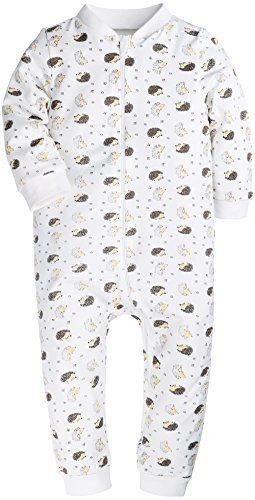 Baby Boys and Girls Romper Onesies Footless Baby Jumpsuits Zipper up Style Bodysuit for Newborn