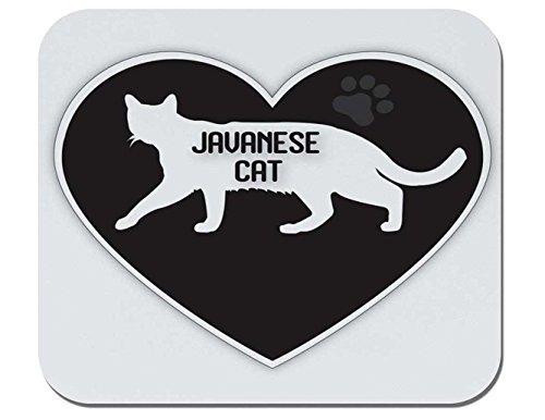 Makoroni - Javanese Cat - Non-Slip Rubber Mousepad, Gaming Office ()