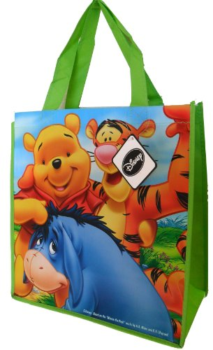 Disney Winnie the Pooh Tote Bag (with Tiger and Eeyore) - 13 X 14 X 6 Inches]()