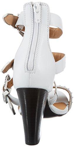 Escarpins Ouvert Bronx 04 Blanc 39 Noir EU Femme White 1467 Bscorpiox BX Bout qXSt4