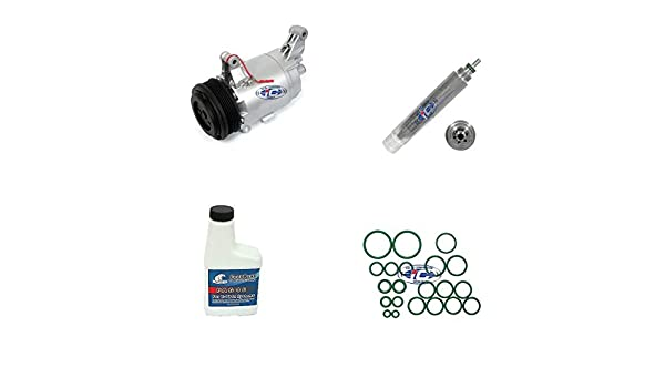 A/C remanufacturados Compresor Kit para Mini Cooper 2002 - 2006 L4 1.6L (CVC) 97275: Amazon.es: Coche y moto