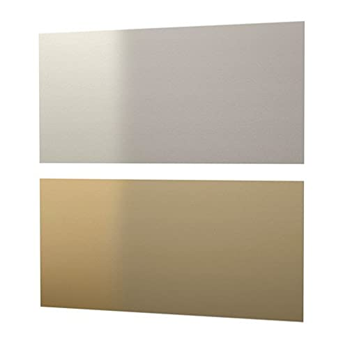 IKEA LYSEKIL Wandpaneel doppelseitig; in messingfarben/stahlfarben ...