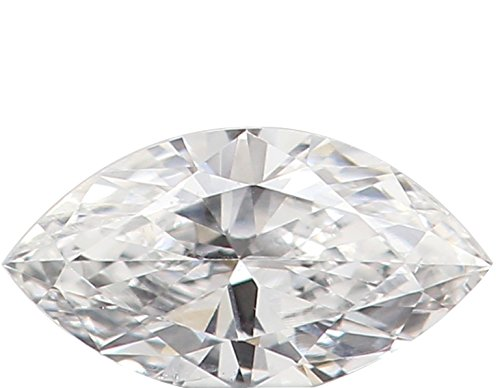 Natural Loose Diamond Marquise E Color VVS1 Clarity 4.40 MM 0.095 Ct N7750 ()