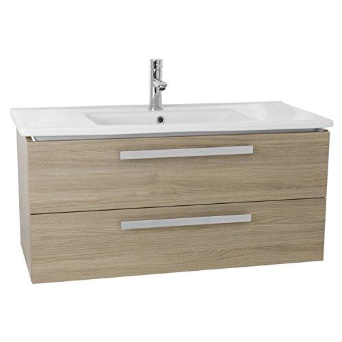 ACF DA30 Dadila Wall Mount Bathroom Vanity Set with 2 Drawers, 38