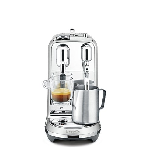 41vXfAGnvyL - Nespresso Creatista Plus Espresso and Coffee Beverages Maker with Milk Frother by Breville, Silver