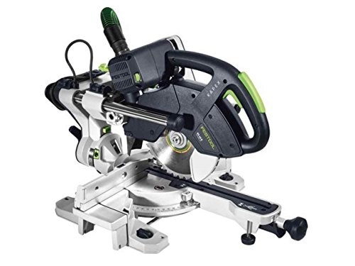 Festool 561685 Sliding Compound mitre Saw KS 60 E GB 110V KAPEX, 110 V, Multi-Colour
