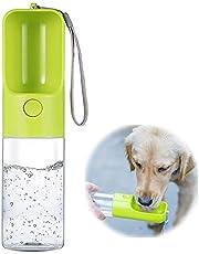 Dog Water Bottle, Outdoor Portable Pet Water Bottle, 15 oz Large Capacity Puppy Water Dispenser for Dog/Cat Outdoor Walking Hiking Travel BPA Free